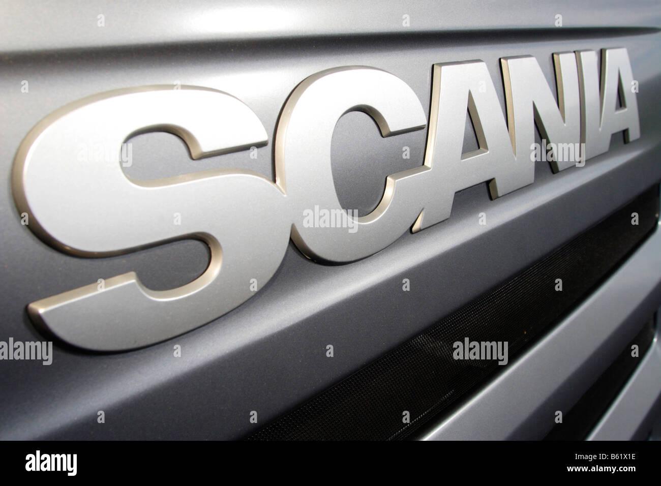 scania truck logo stock photo royalty free image