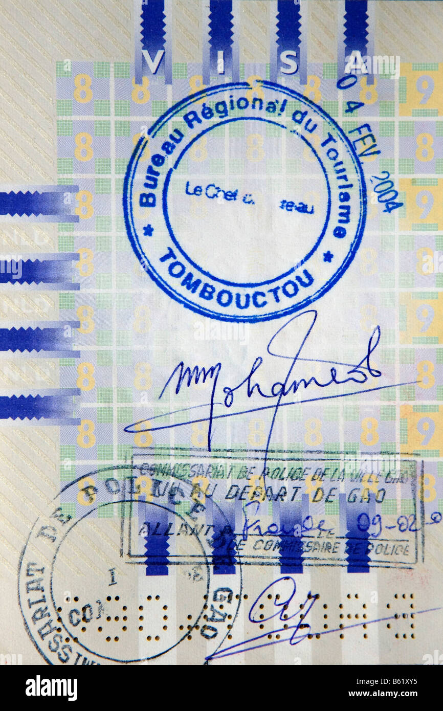Netherlands graveland stamp in dutch passport tourist police stamp netherlands graveland stamp in dutch passport tourist police stamp looking like visum for tombouctou timbuktu city ccuart Choice Image