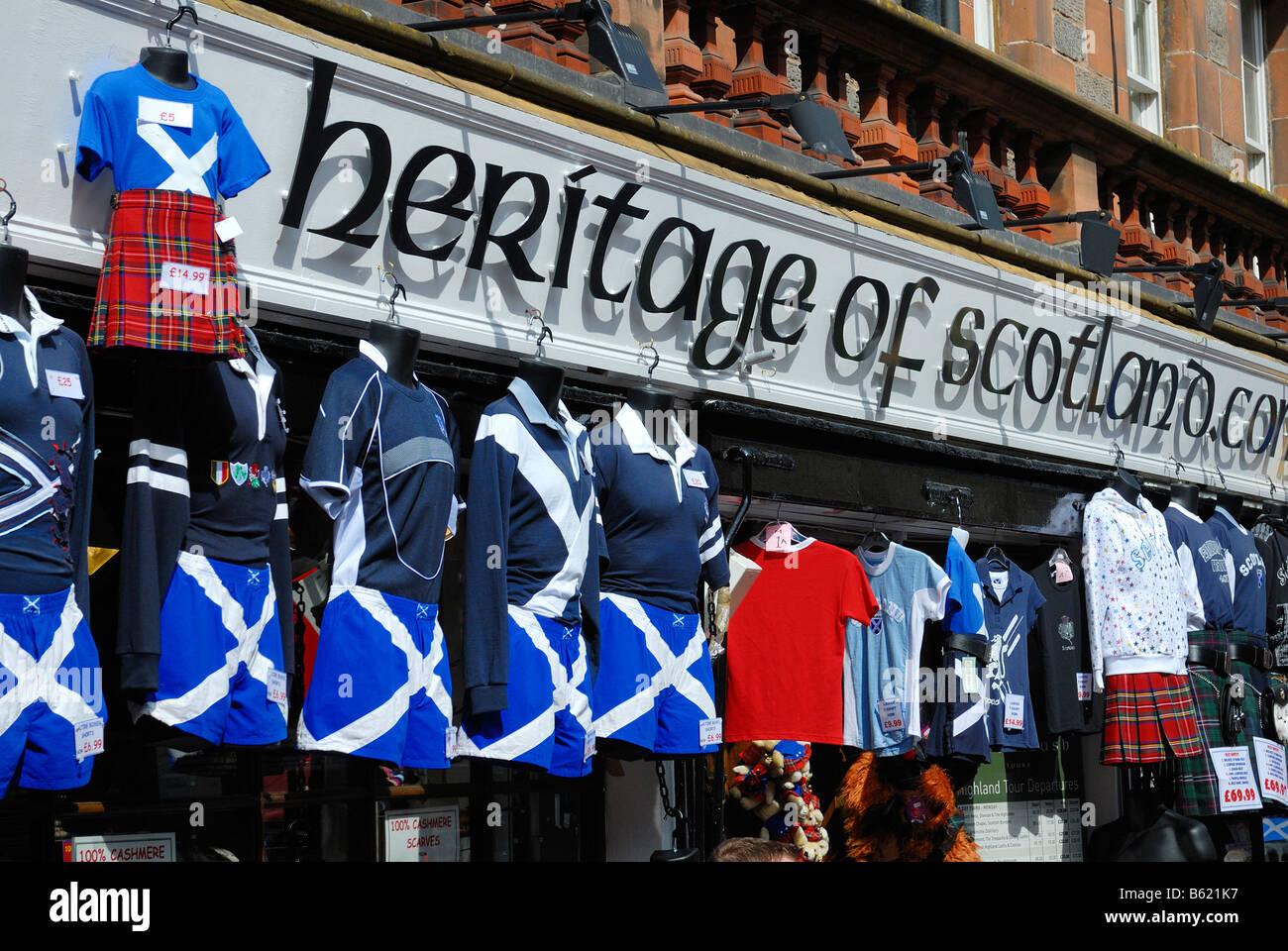 Scottish clothing stores