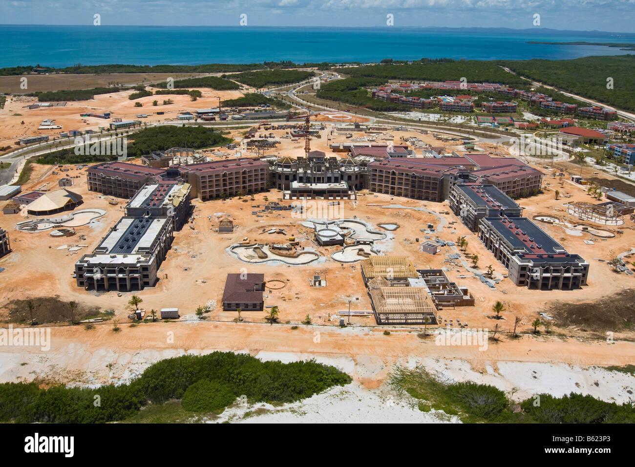 New luxury hotel under construction on varadero cuba caribbean central america america