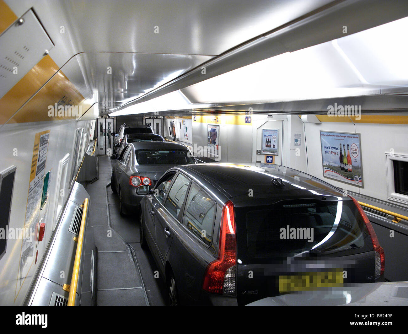 eurotunnel interior stock photo royalty free image 20946003 alamy. Black Bedroom Furniture Sets. Home Design Ideas