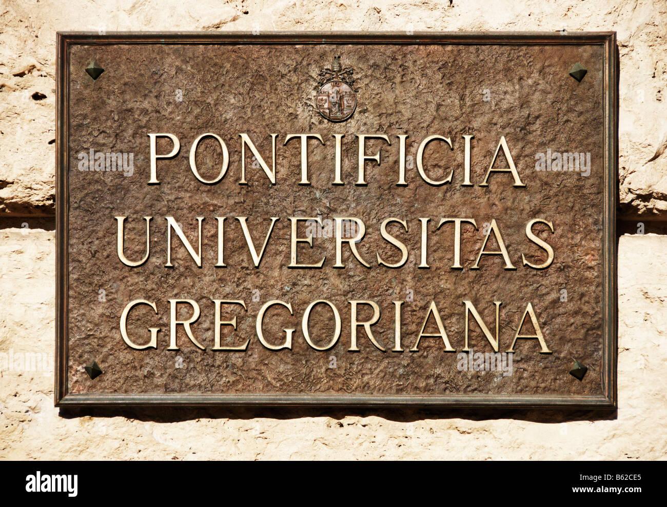 gregoriana in rome italy - photo#46