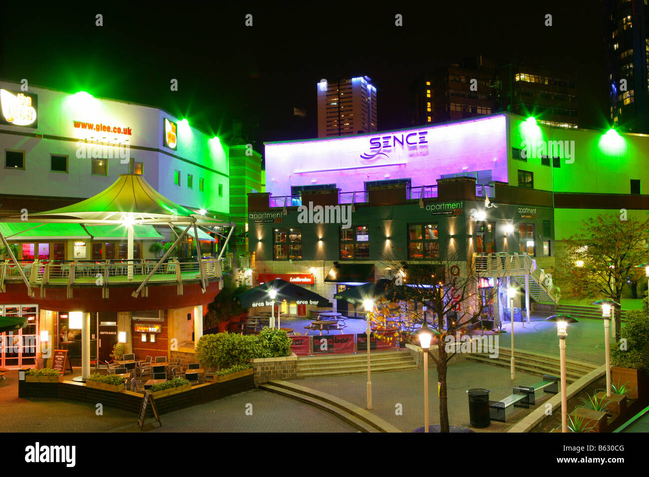 Birmingham Arcadian Restaurants