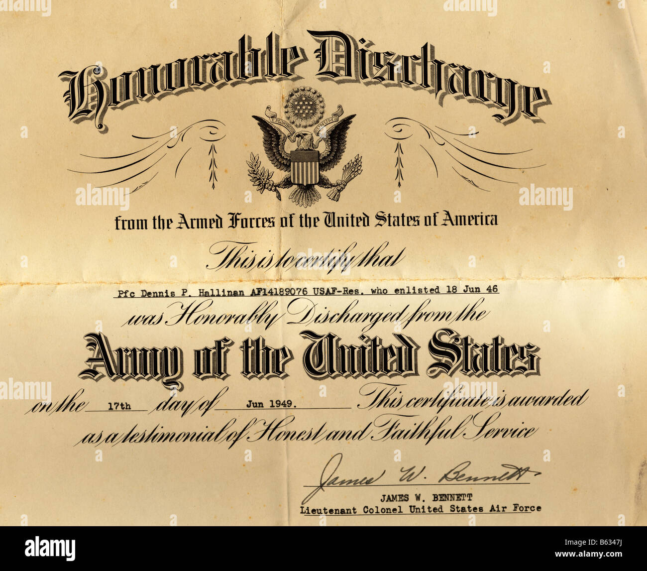 Honorable discharge certificate template the training feedback honorable discharge certificate template the professional receipt united states army honorable discharge document b6347j honorable discharge xflitez Choice Image