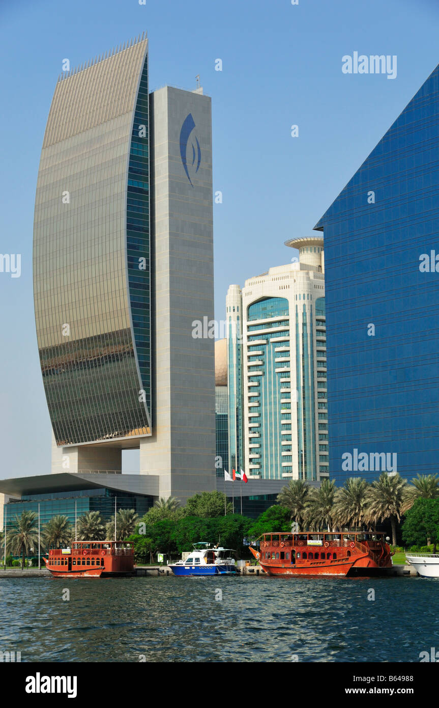 Perfect National Bank Of Dubai, Creek Tower, Etisalat, Chamber Of Commerce And  Industry Good Looking
