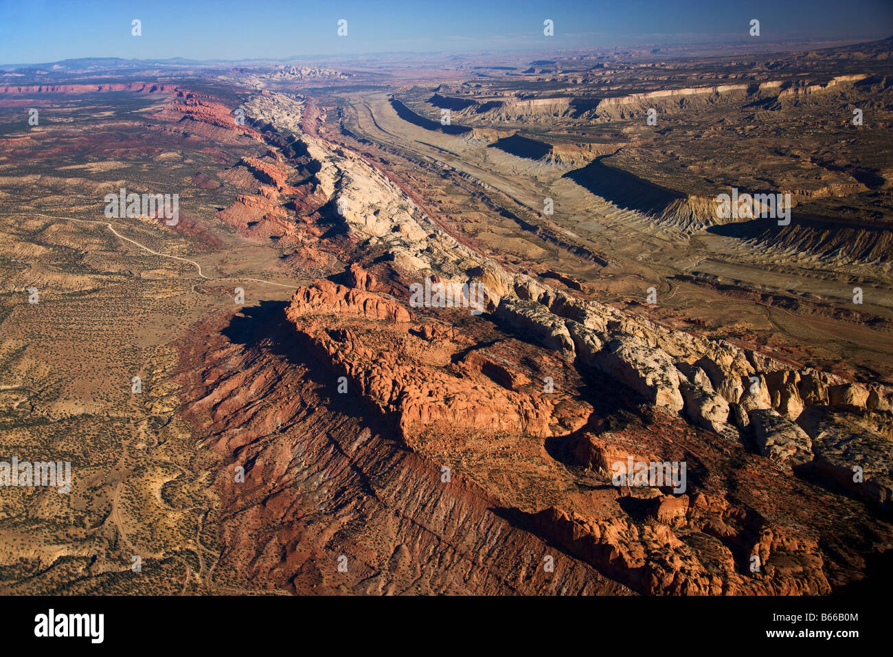 Hickman Natural Bridge Waterpocket Fold Capitol Reef National Park ...