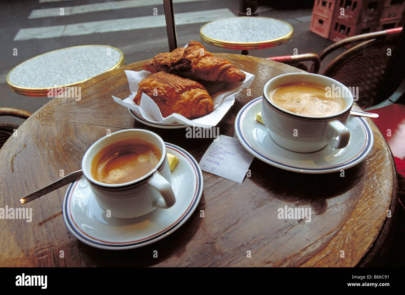 French Breakfast Cafe Paris