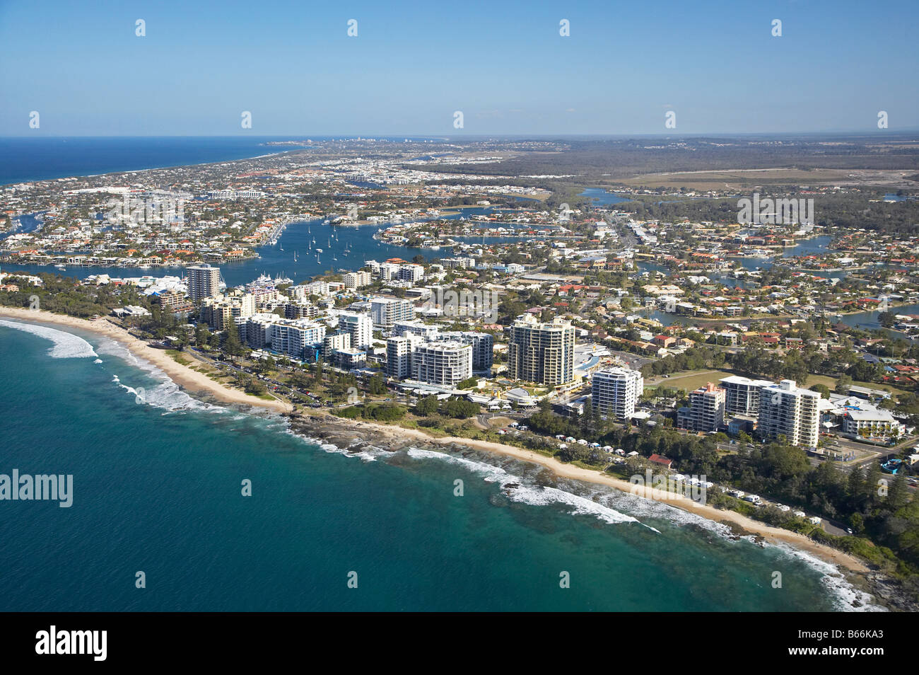 Mooloolaba Beach Mooloolaba Sunshine Coast Queensland Australia Stock Photo Royalty Free Image
