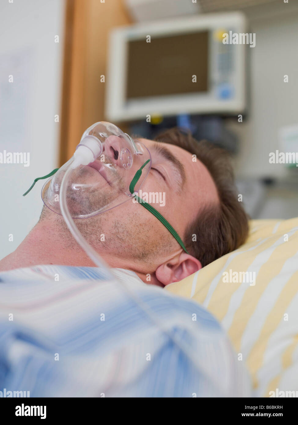 Patient With Oxygen Mask High-Res Stock Photo - Getty Images