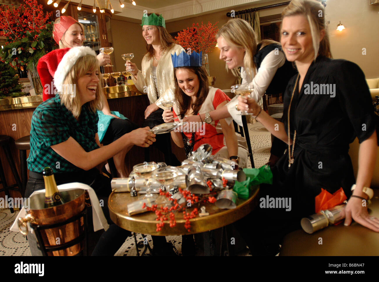 Christmas Office Party Ideas London Part - 49: All Girl Office Xmas Party At Kettneru0027s Bar And Restaurant London
