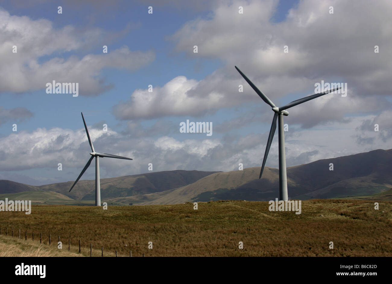 wind farms in cumbria Plans are being drawn up to double the size of a cumbrian wind farm, making it the largest in the world.