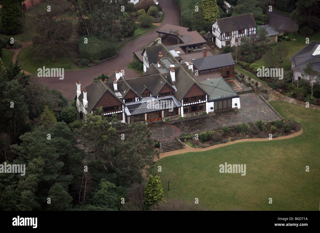 House of Roman Abramovich, Fyning Hall Estate, West Sussex