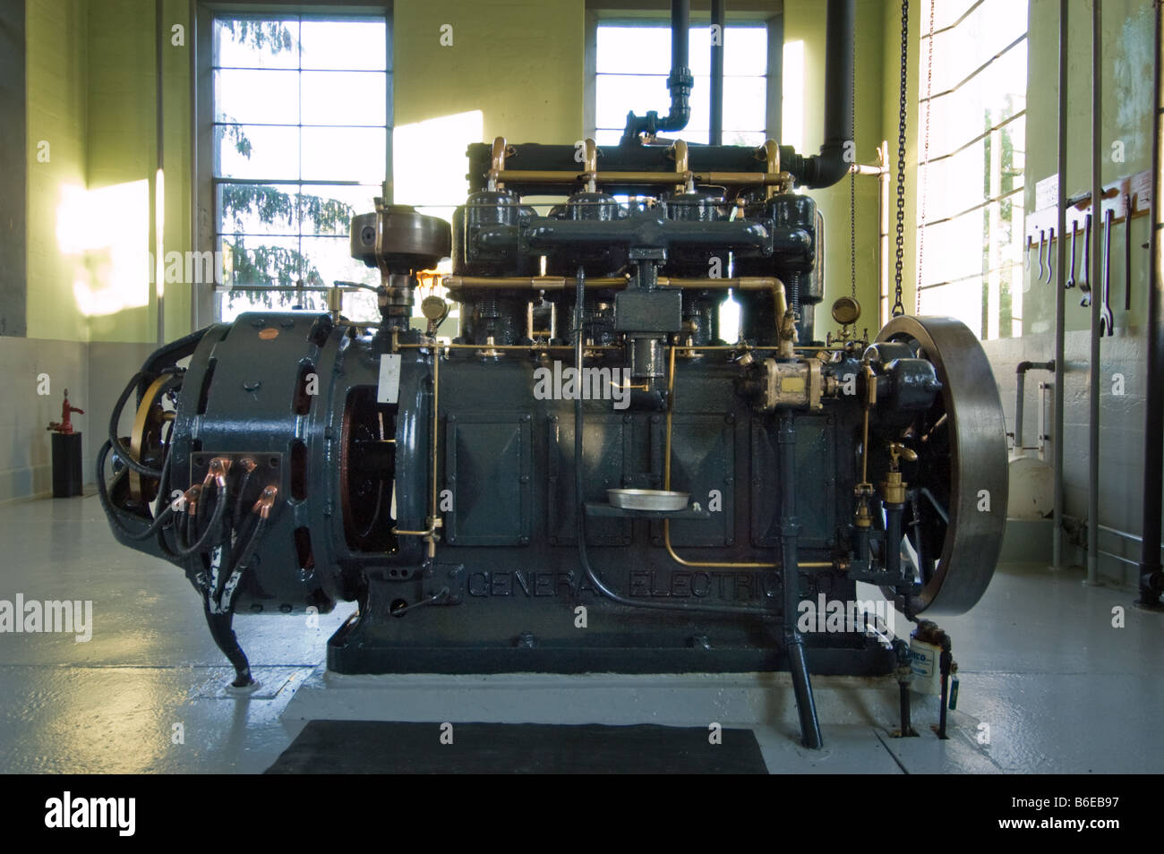 continuous direct current generator 1902 made by general
