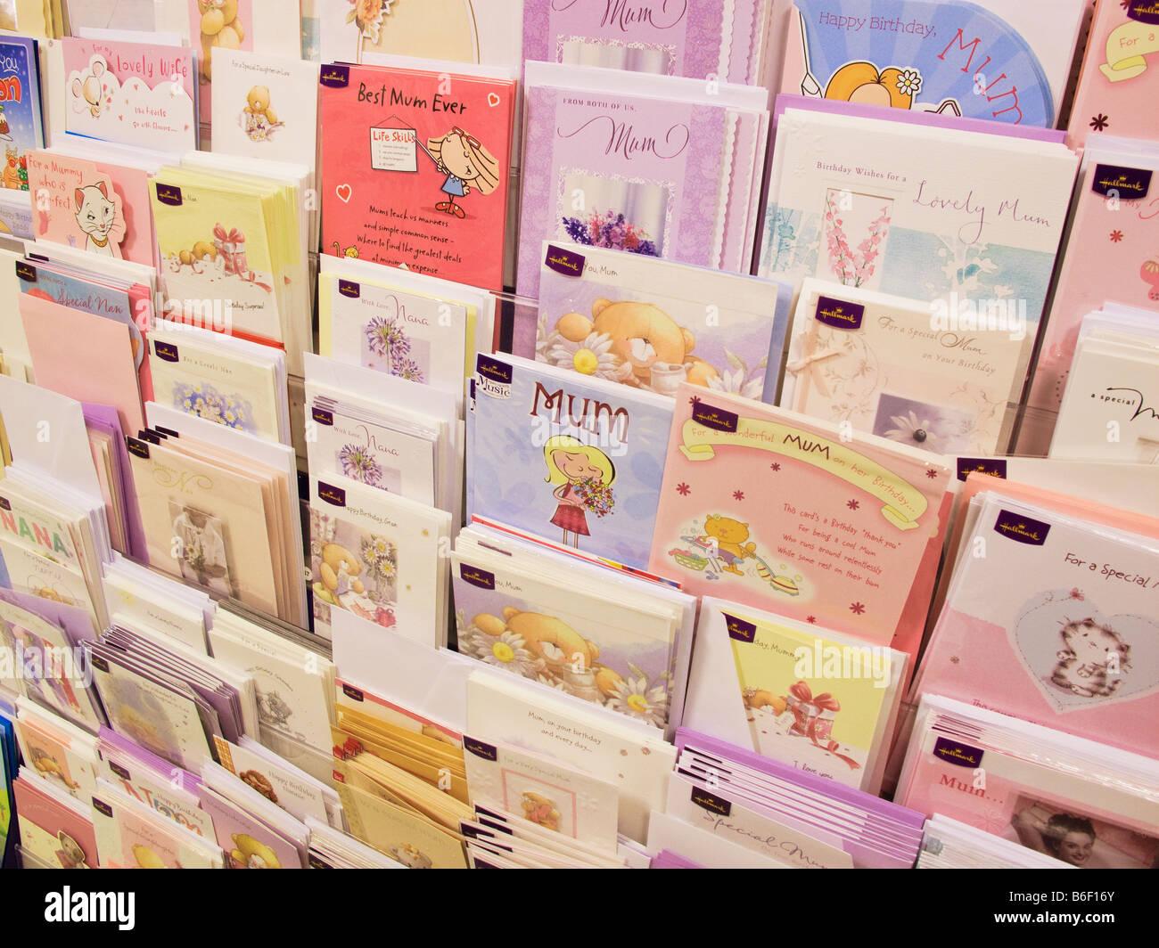 Greeting cards in rack in morrisons supermarket gibraltar stock greeting cards in rack in morrisons supermarket gibraltar kristyandbryce Gallery