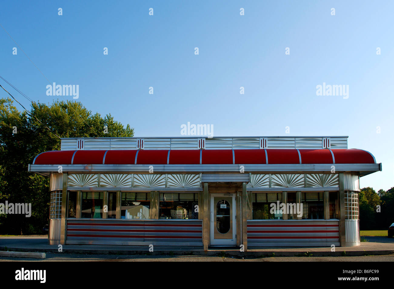 American diner restaurant blairstown new jersey usa for 50 s diner exterior