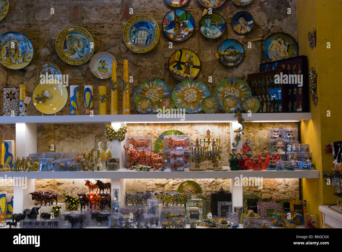 Barcelona Spain Souvenir Gift Stock Photos & Barcelona Spain ...