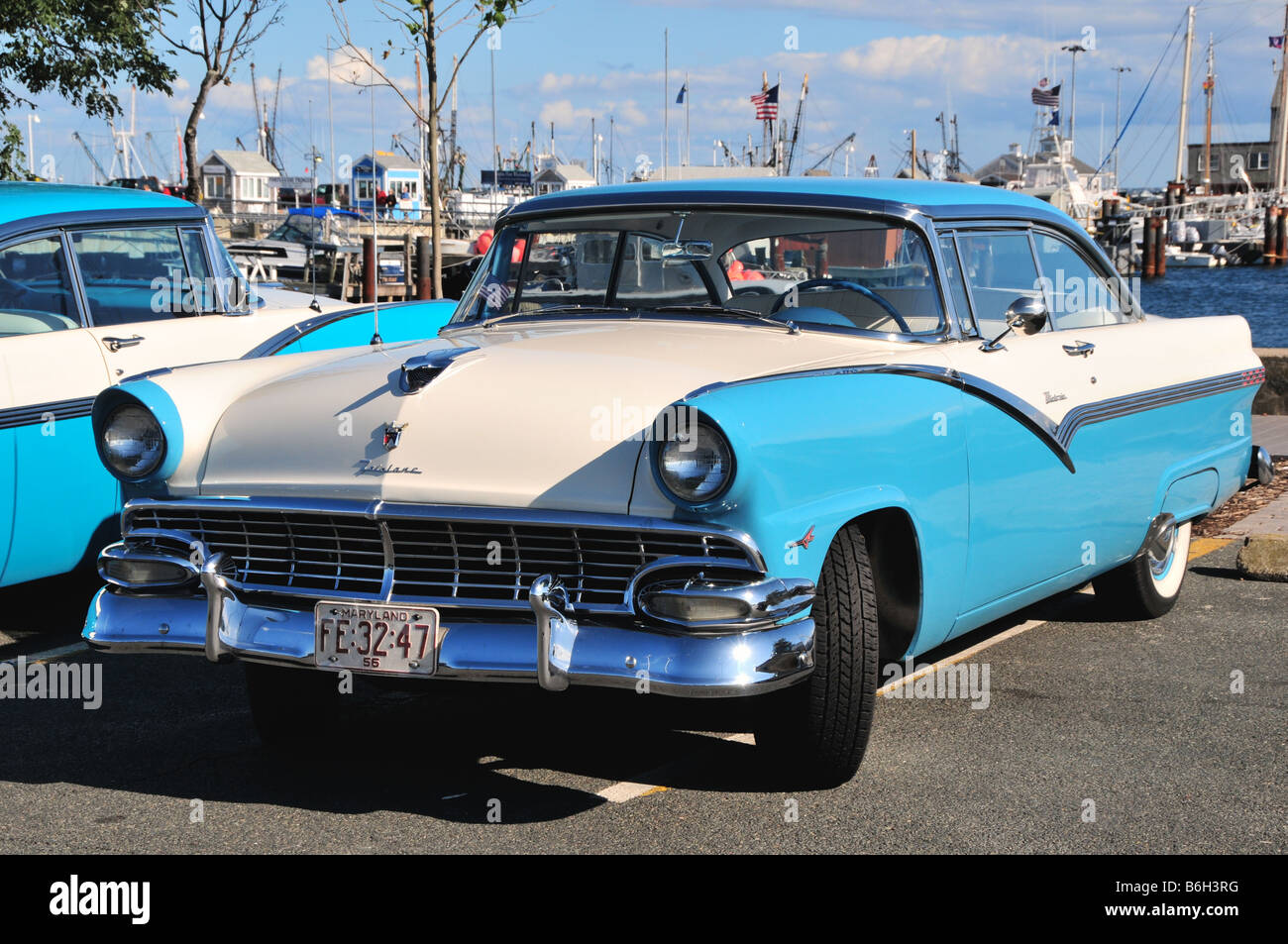 1950s Ford Fairlane Victoria classic car, USA Stock Photo, Royalty ...