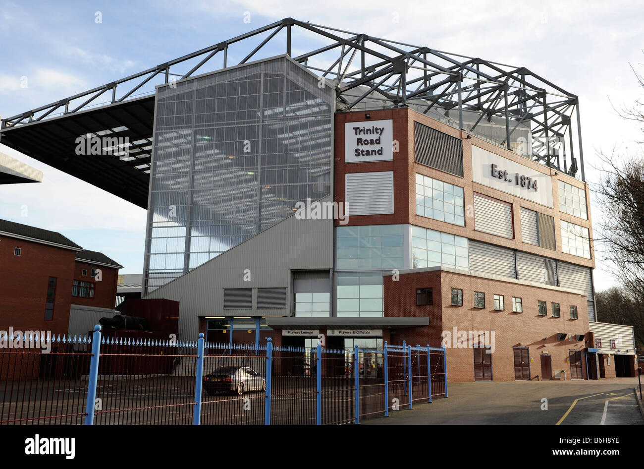 The Trinity Road Stand Of Villa Park In Birmingham Home