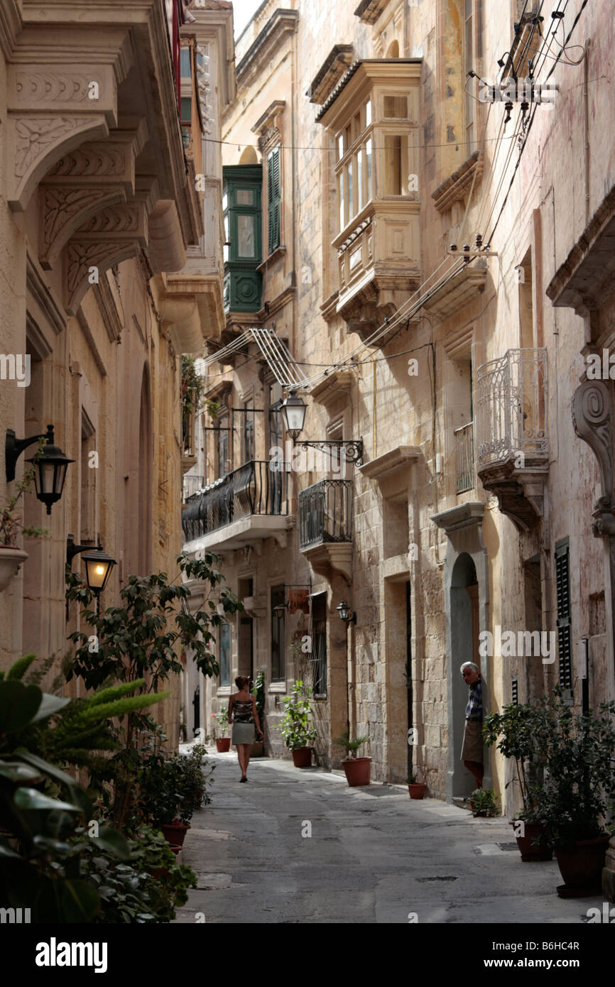 malta old alley houses - photo #5