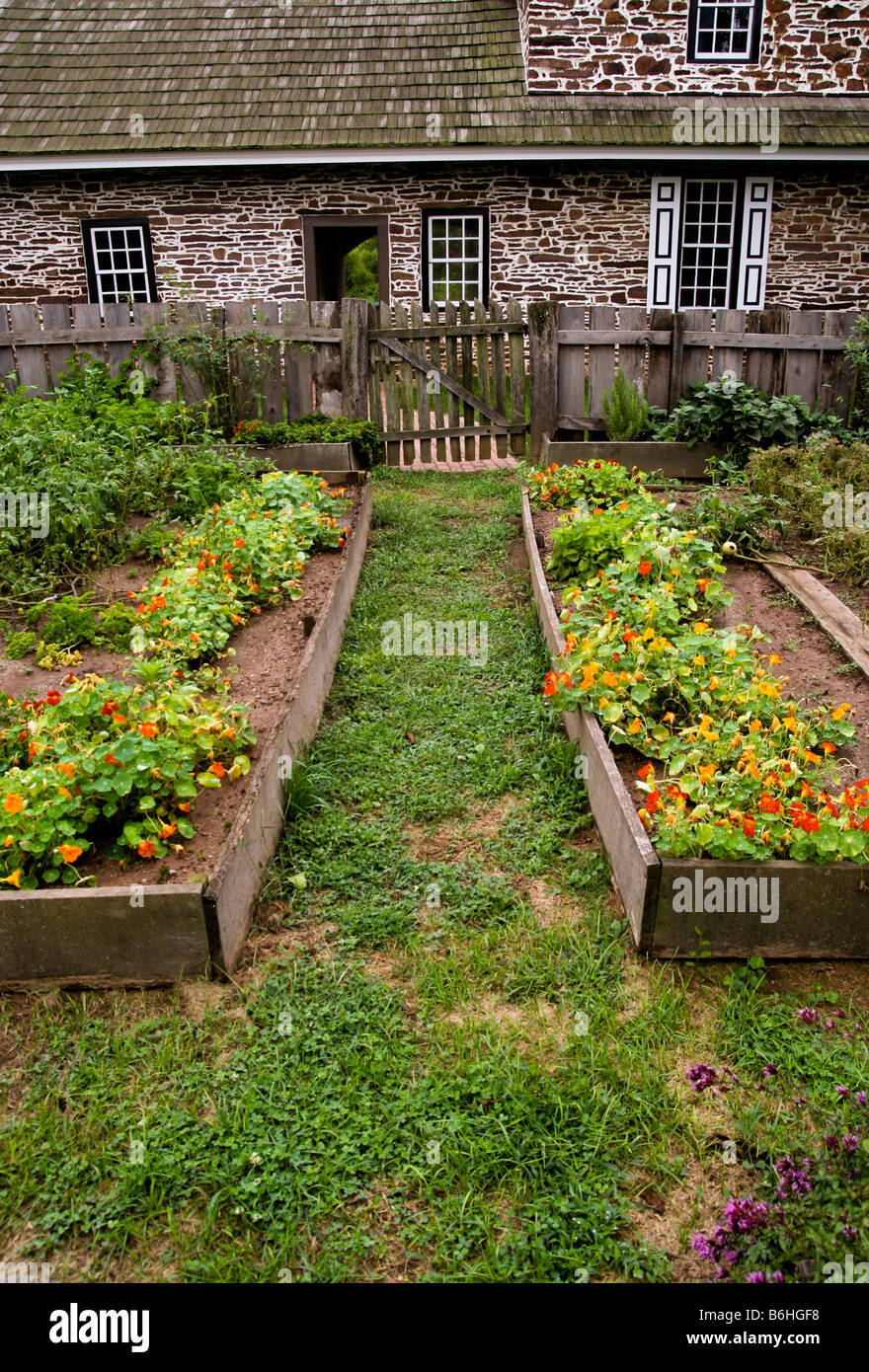 A Pennsylvanian Early/Colonial American field stone house and ...
