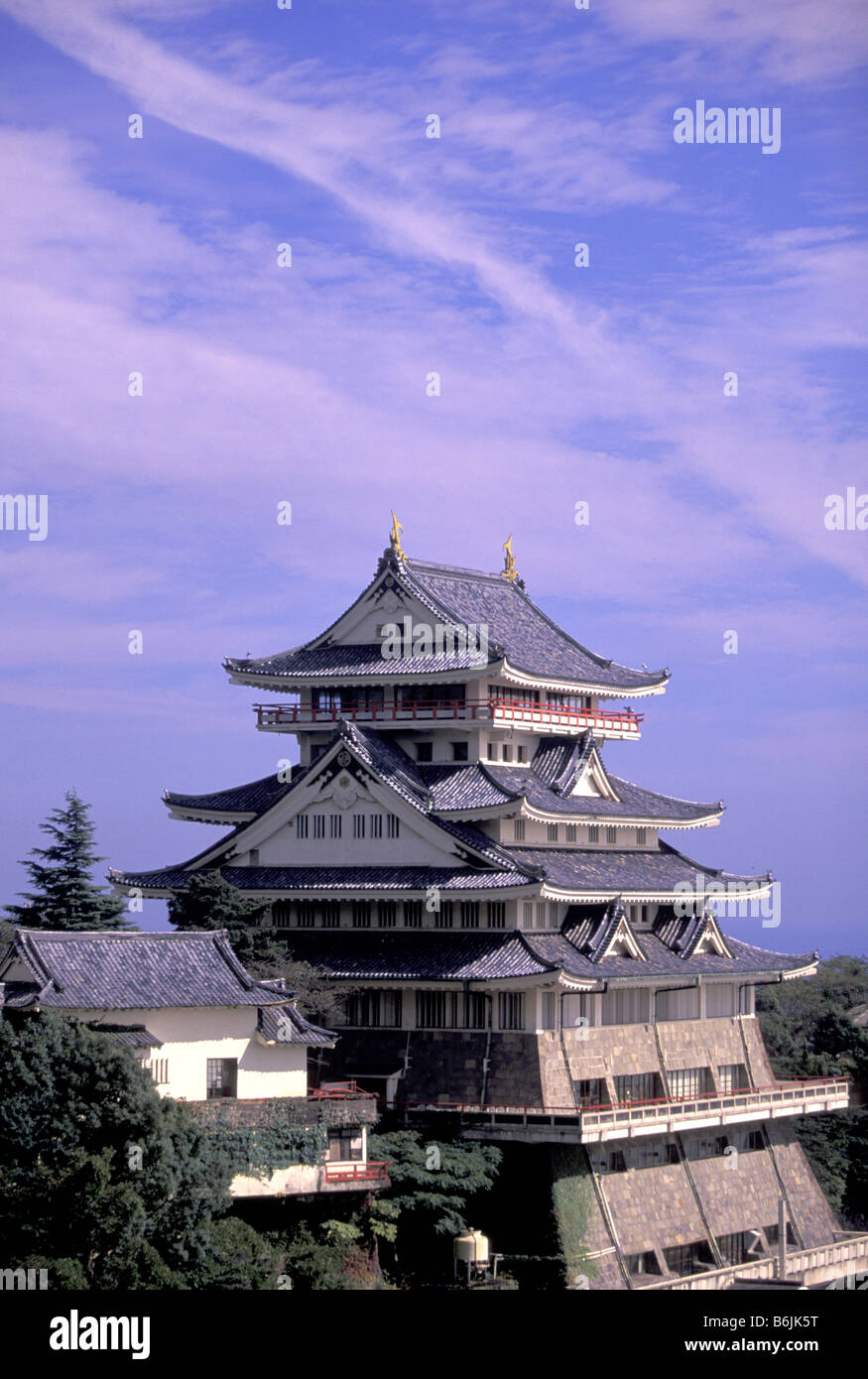 Izu / Atami Japan  city images : ... Japan, western Honshu, Atami, Izu, Hanto Peninsula, Atami, jo Castle