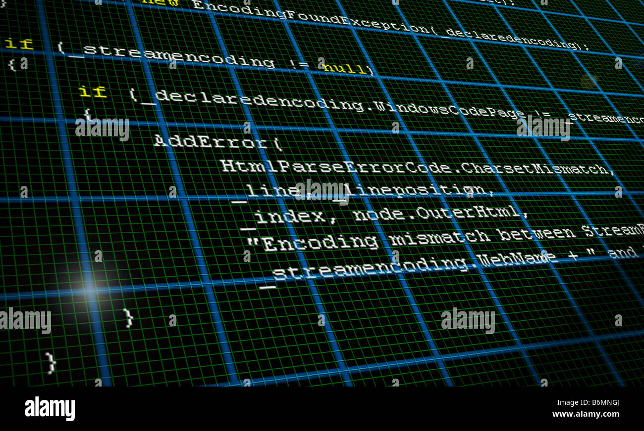 Stock Photo - Programming Code Source Background Texture Illustration ...