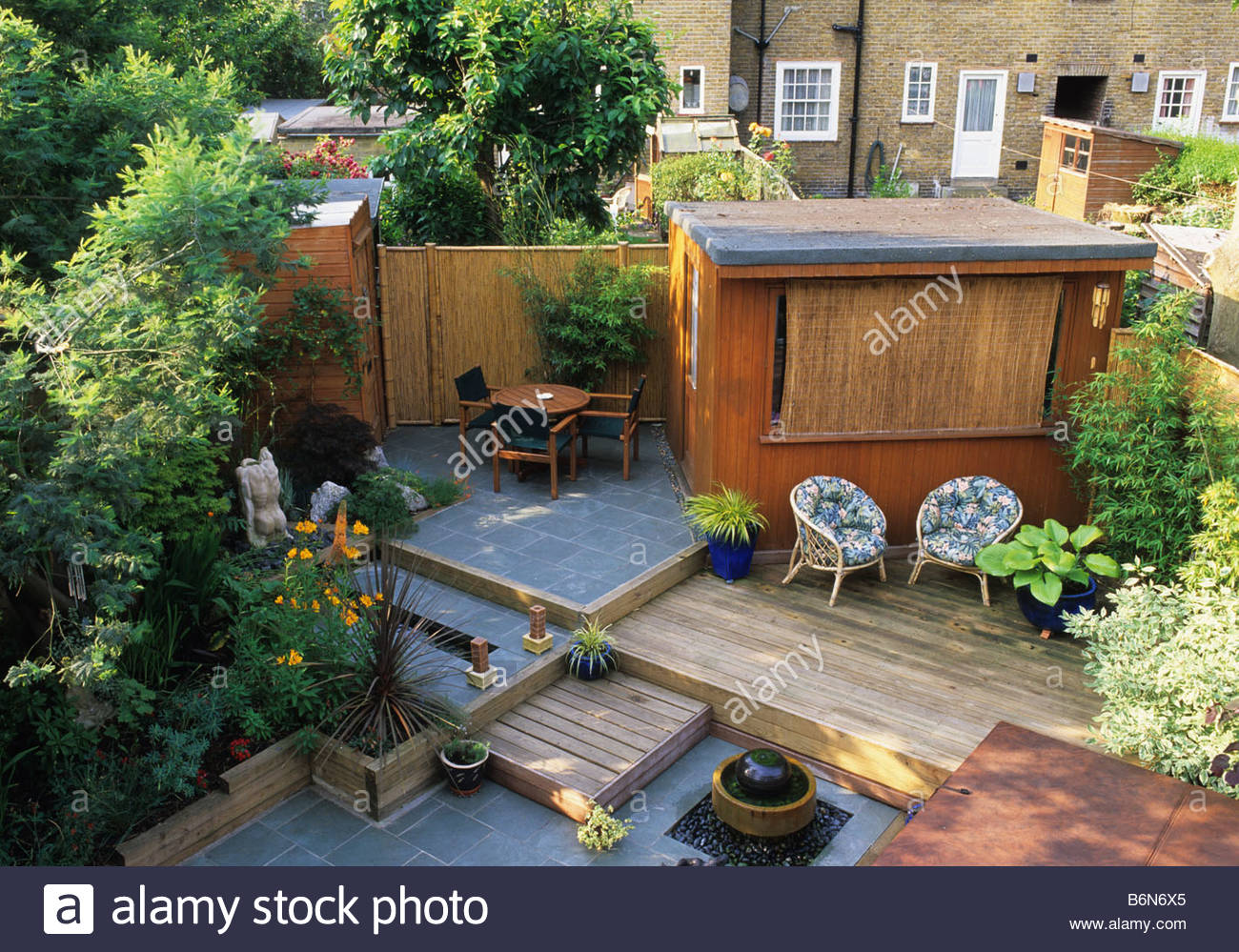 Private Small Garden Design: Private Garden London Design Kristina Fitzsimmons Small