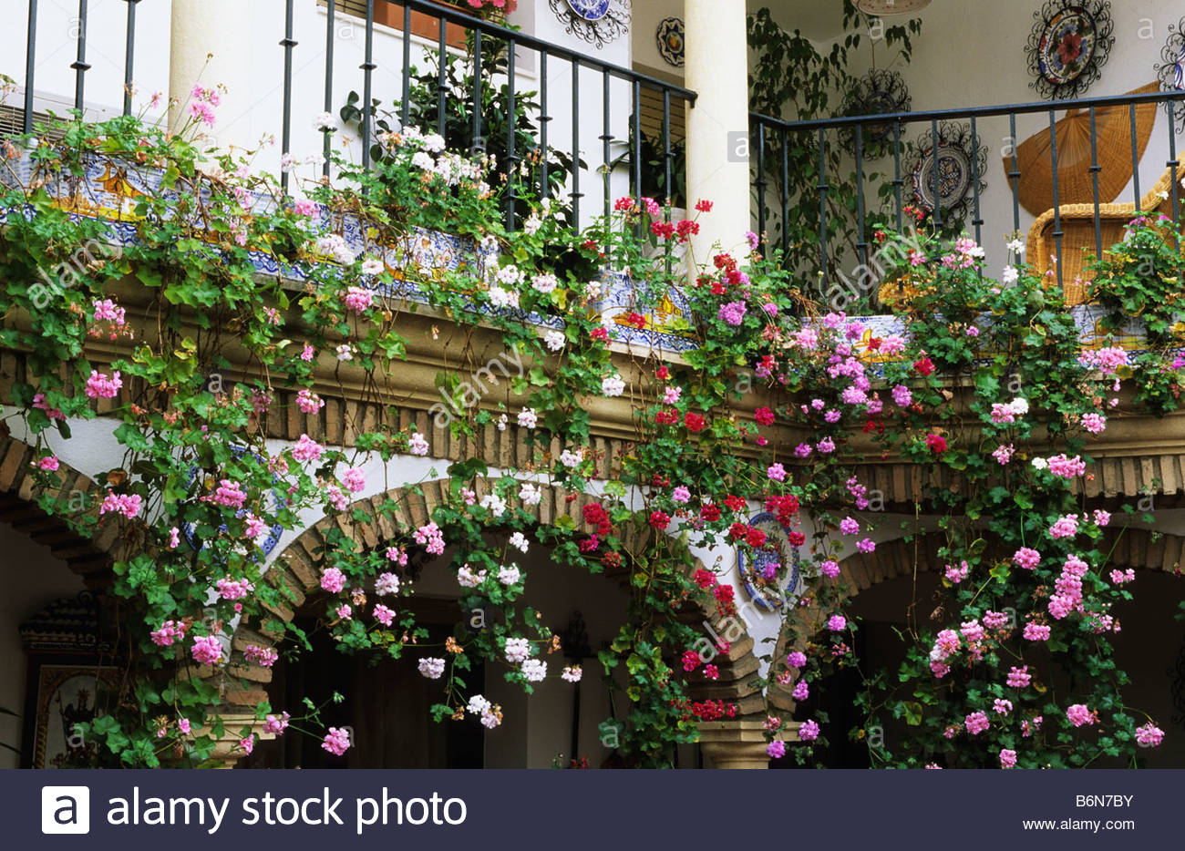 Balcony Garden Stock Photos Balcony Garden Stock Images Alamy