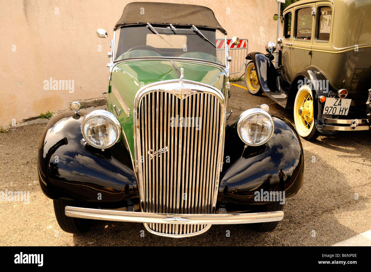 This is a detail from a Singer , a vintage car in Savoca Sicily ...