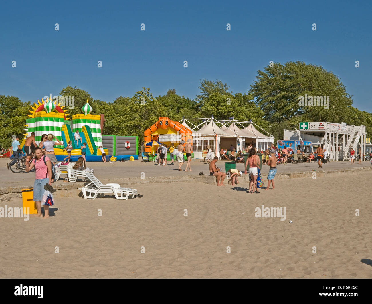 bouncing castle for kids on beach wendy houses for children at