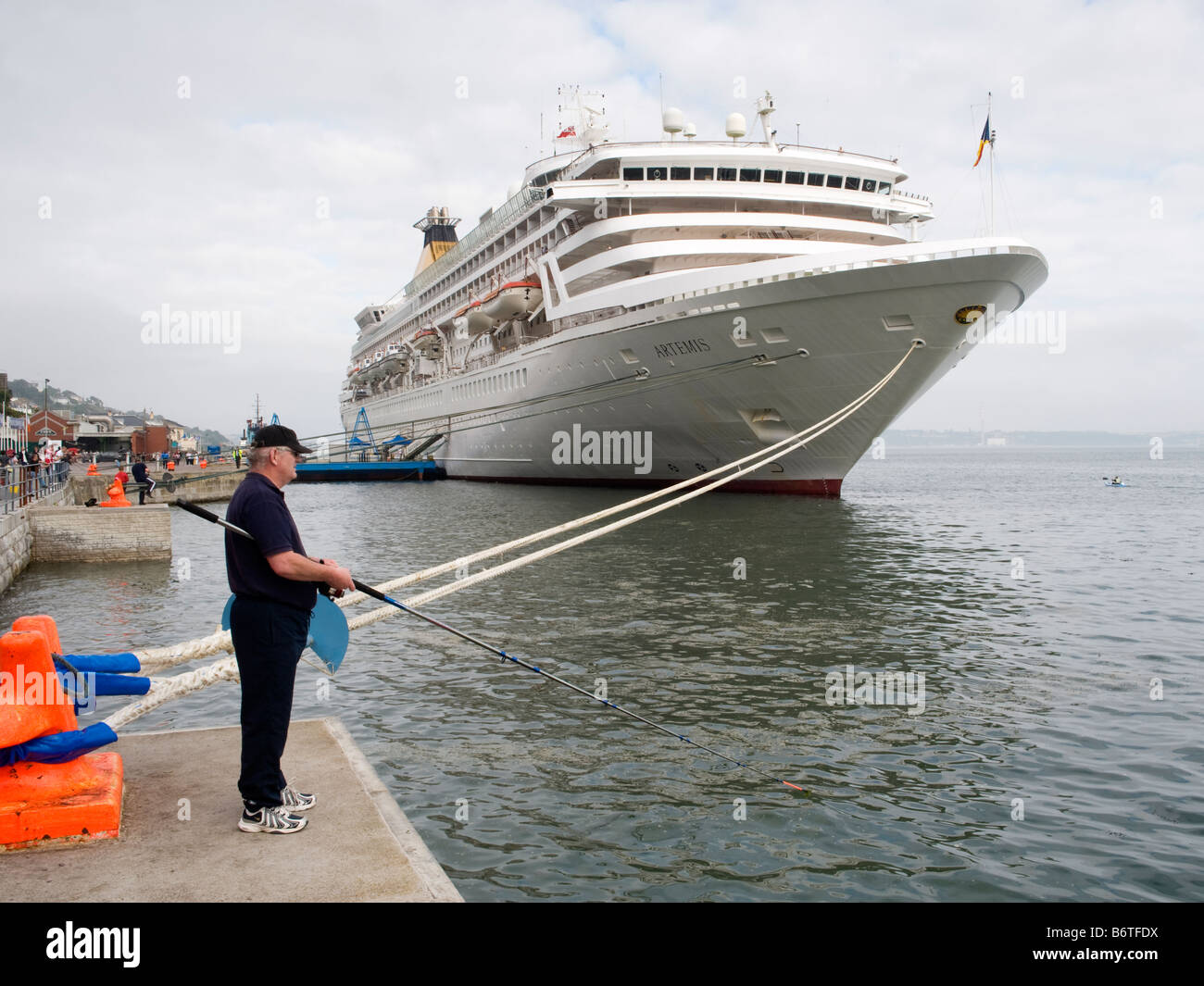 PO Cruise Ship Artemis Berthed At The Port Of Cobh County Cork - Cruise ship ireland