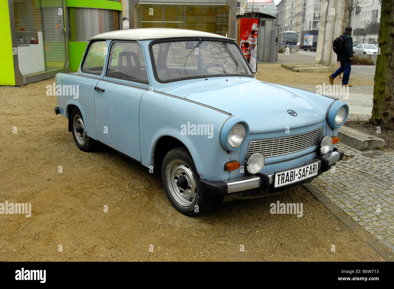 Trabant Berlin East German Motor Car Communist Soviet Travel