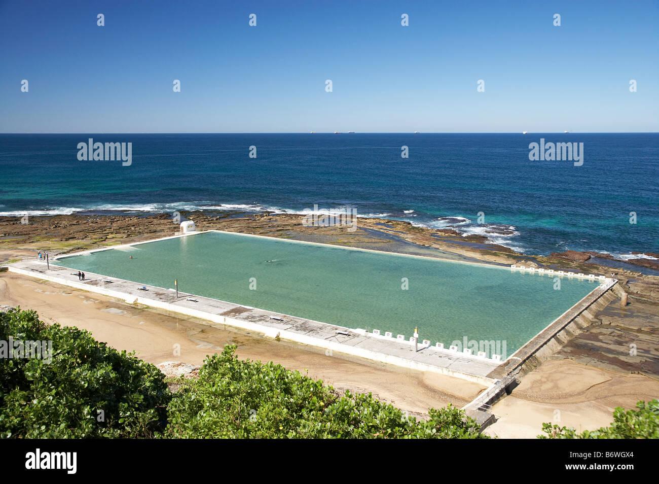 Merewether Ocean Baths Newcastle New South Wales Australia