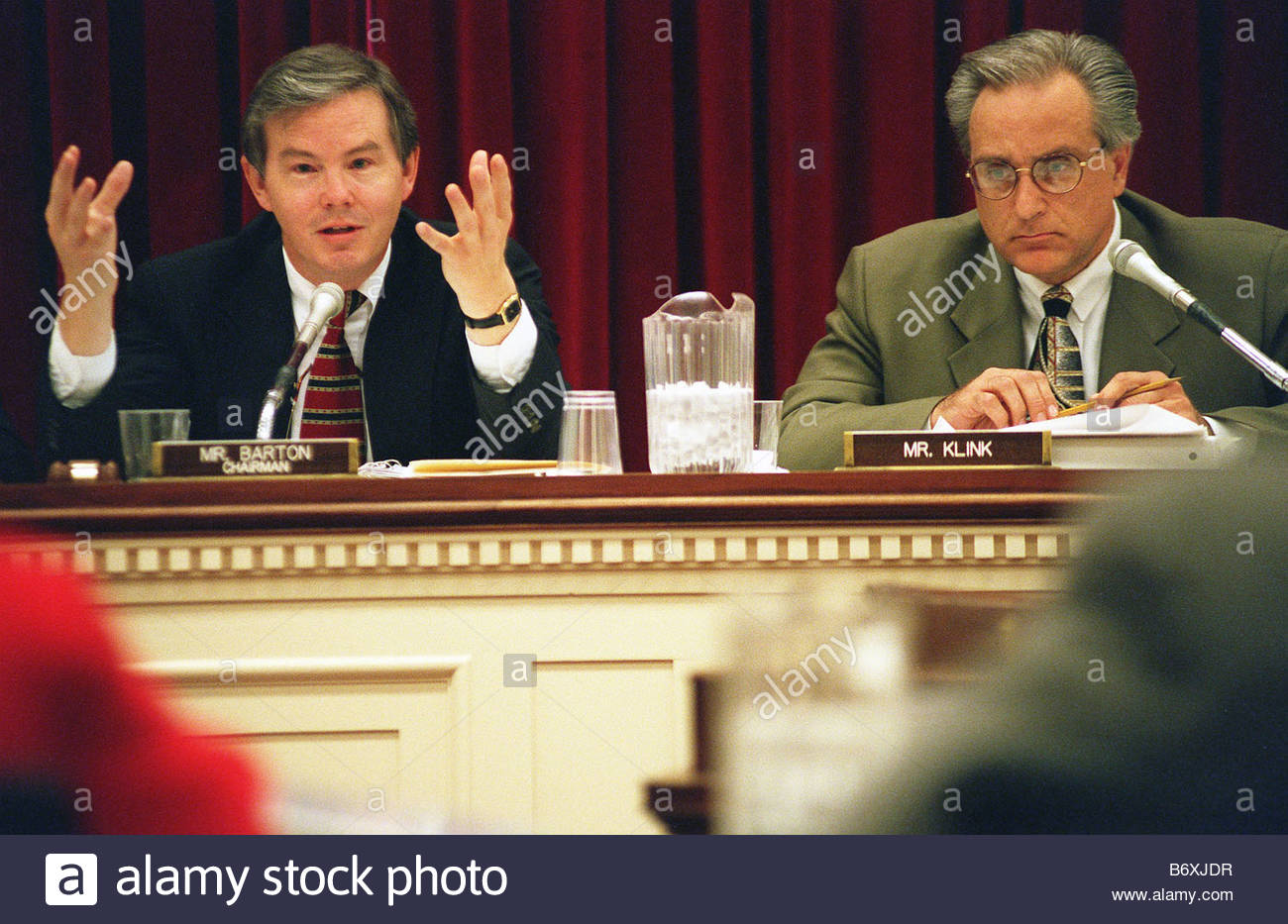 Charming 10 23 97 ENERGY DEPARTMENT HEARING House Commerce Oversight Subcommittee  Chairman Joe Barton R Texas And Ranking Member Ron Klink D Pa During  Questioning Of ...