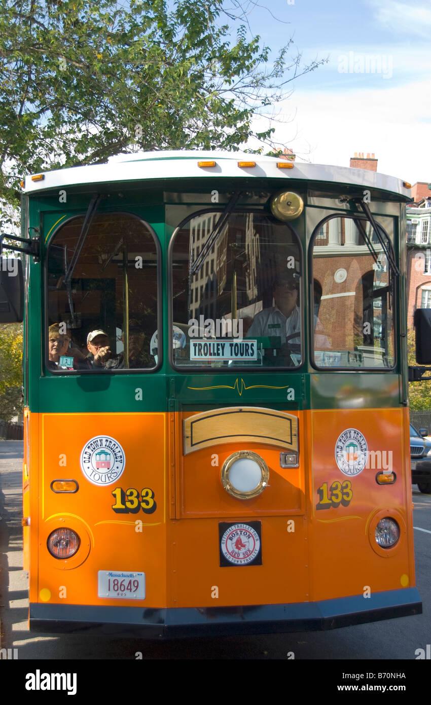 Old Town Trolley Boston Massachusetts