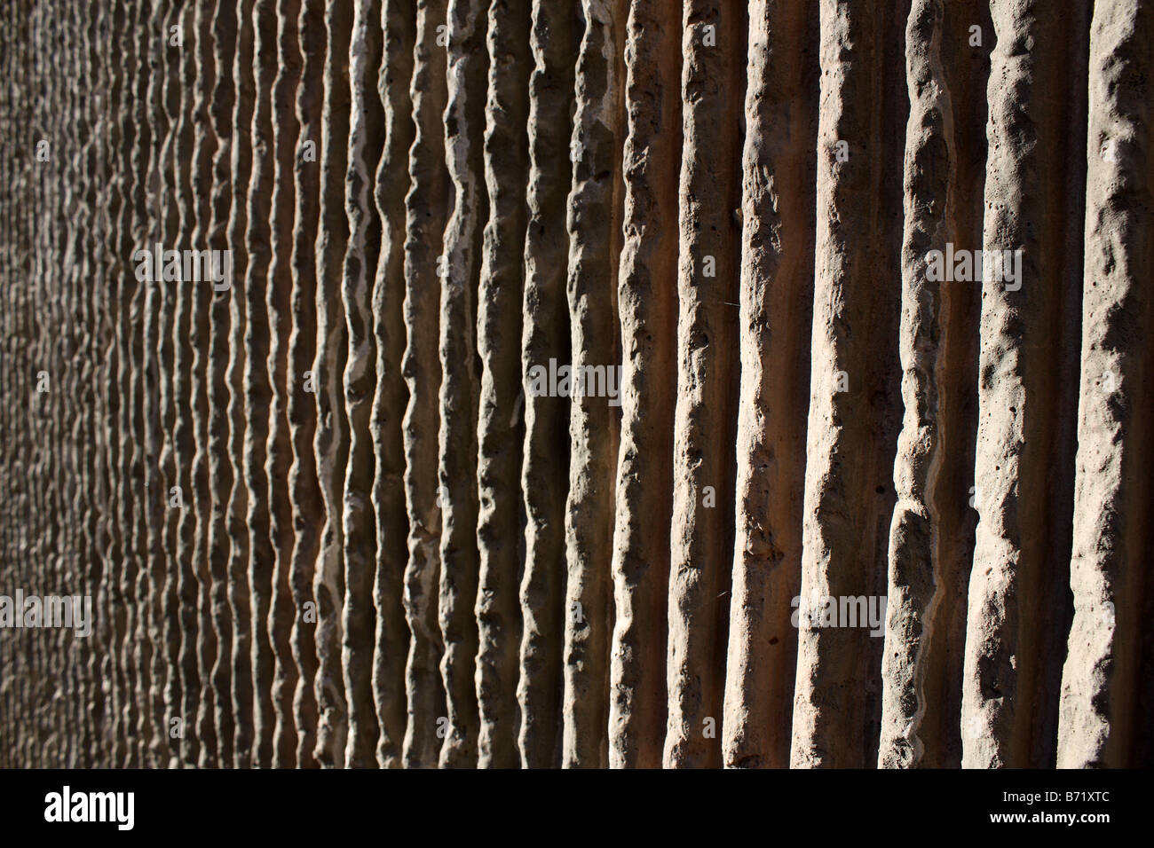 A rough textured concrete wall stock photo royalty free for Precast texture