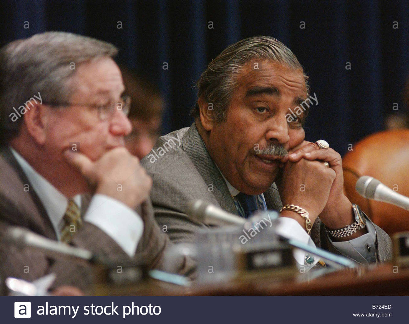 Awesome 4 3 03 ENERGY TAX POLICY ACT Chairman Bill Thomas R Calif And Ranking  Democrat Charles B Rangel N Y During The House Ways Means