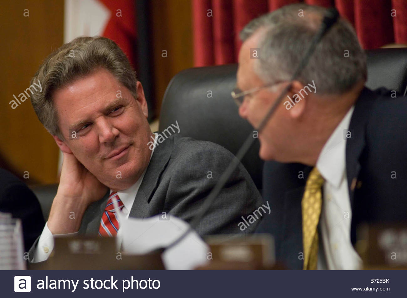 WASHINGTON DC Oct 10 House Energy And Commerce Health Subcommittee Chairman  Frank Pallone Jr D N J And Ranking Member Nathan Dea