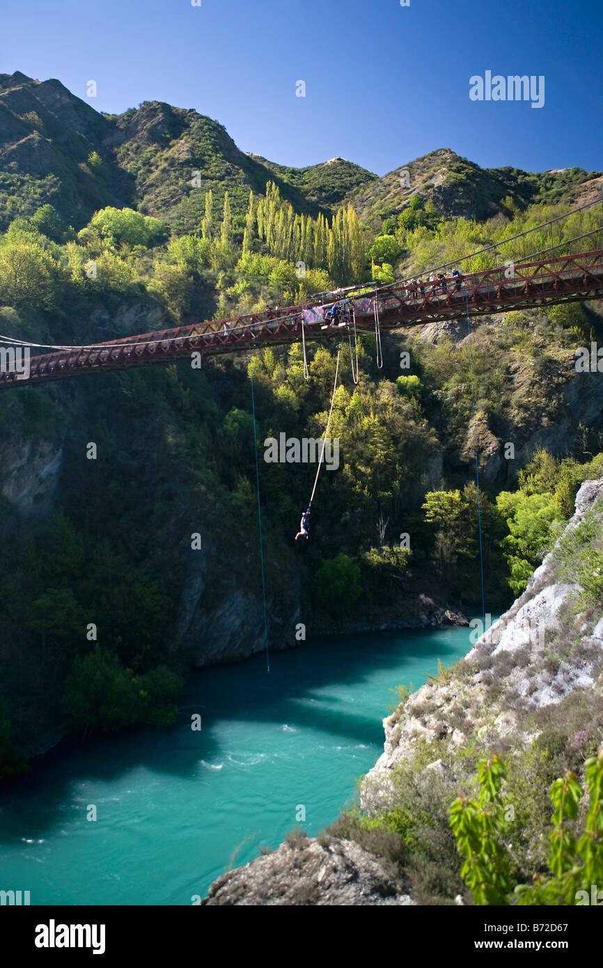 New Zealand Rope Bridge South Island