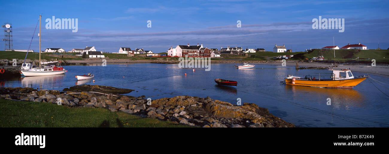 Scarinish Village And Harbour Island Of Tiree Inner