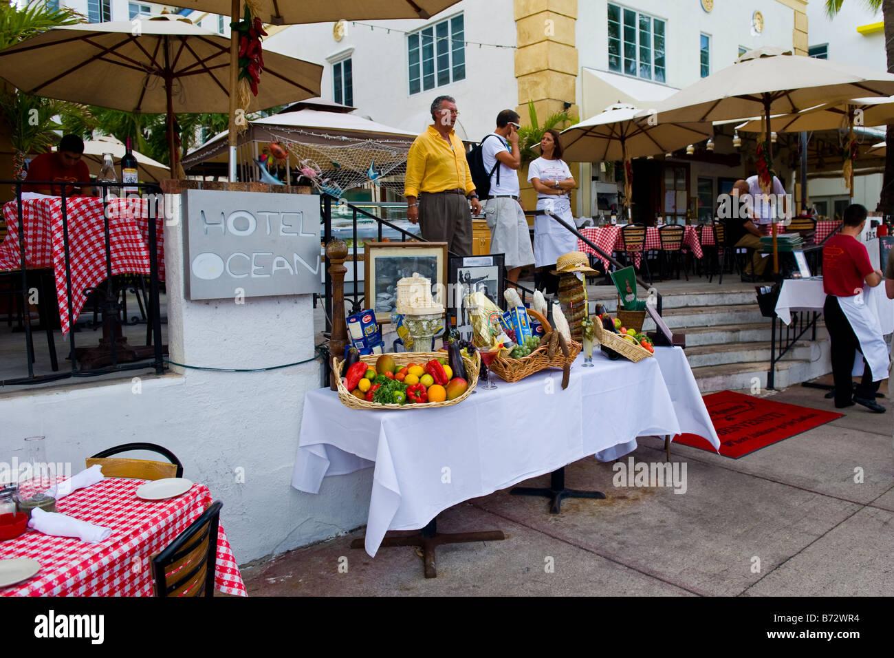 Italian Restaurants Ocean Drive South Beach