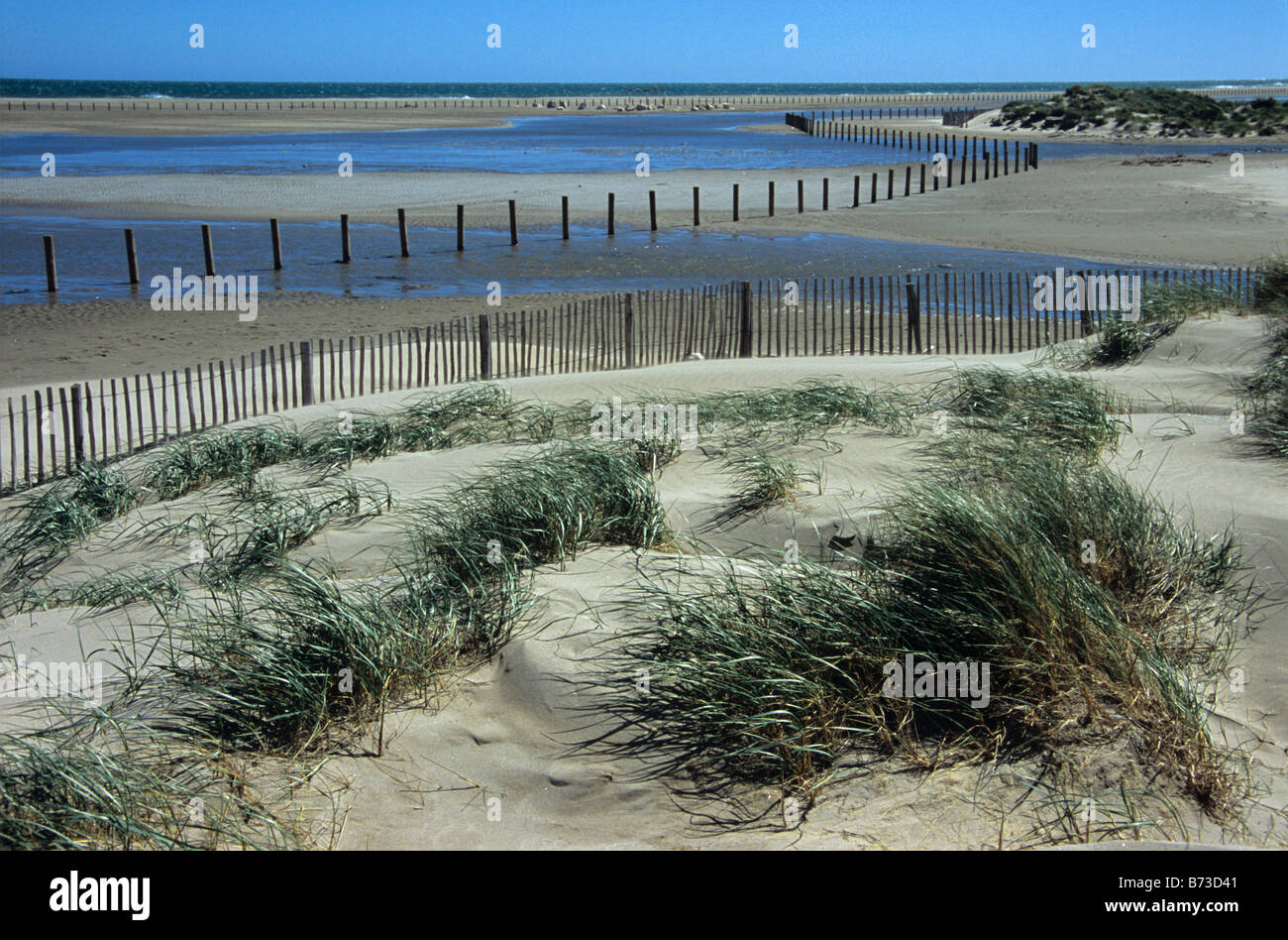 Plage napoleon or napoleon beach and sand dunes port - Meteo port saint louis du rhone plage ...
