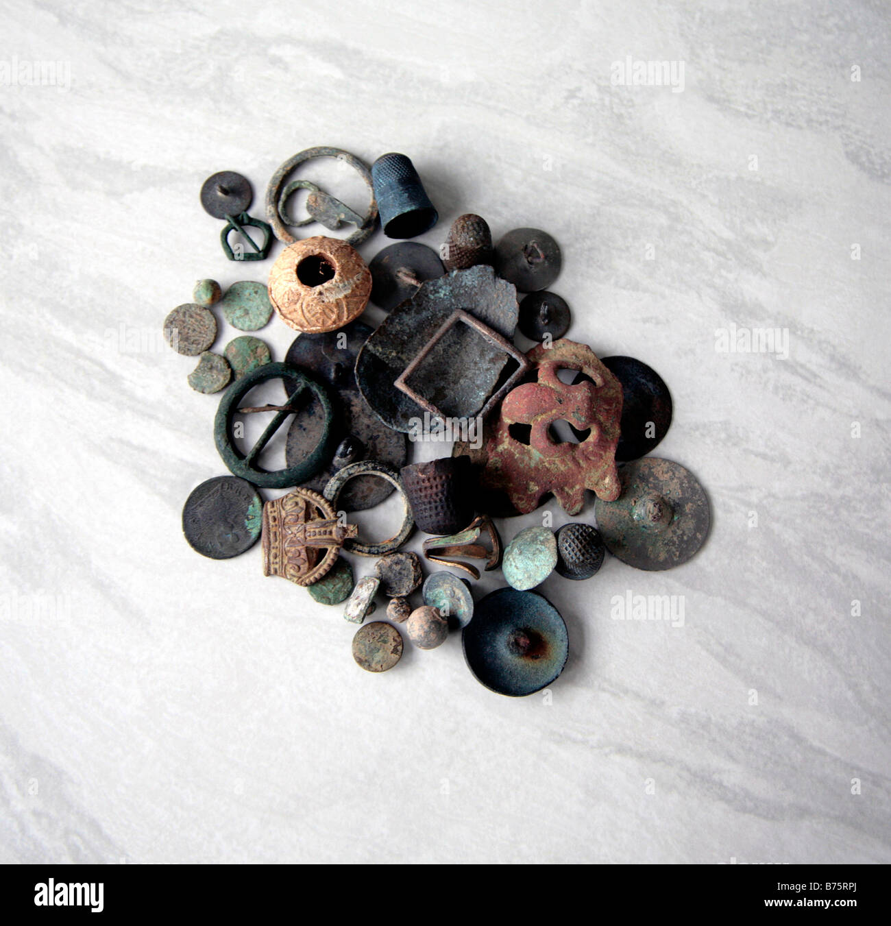 Jew Detector: Metal Detector Finds Stock Photo, Royalty Free Image