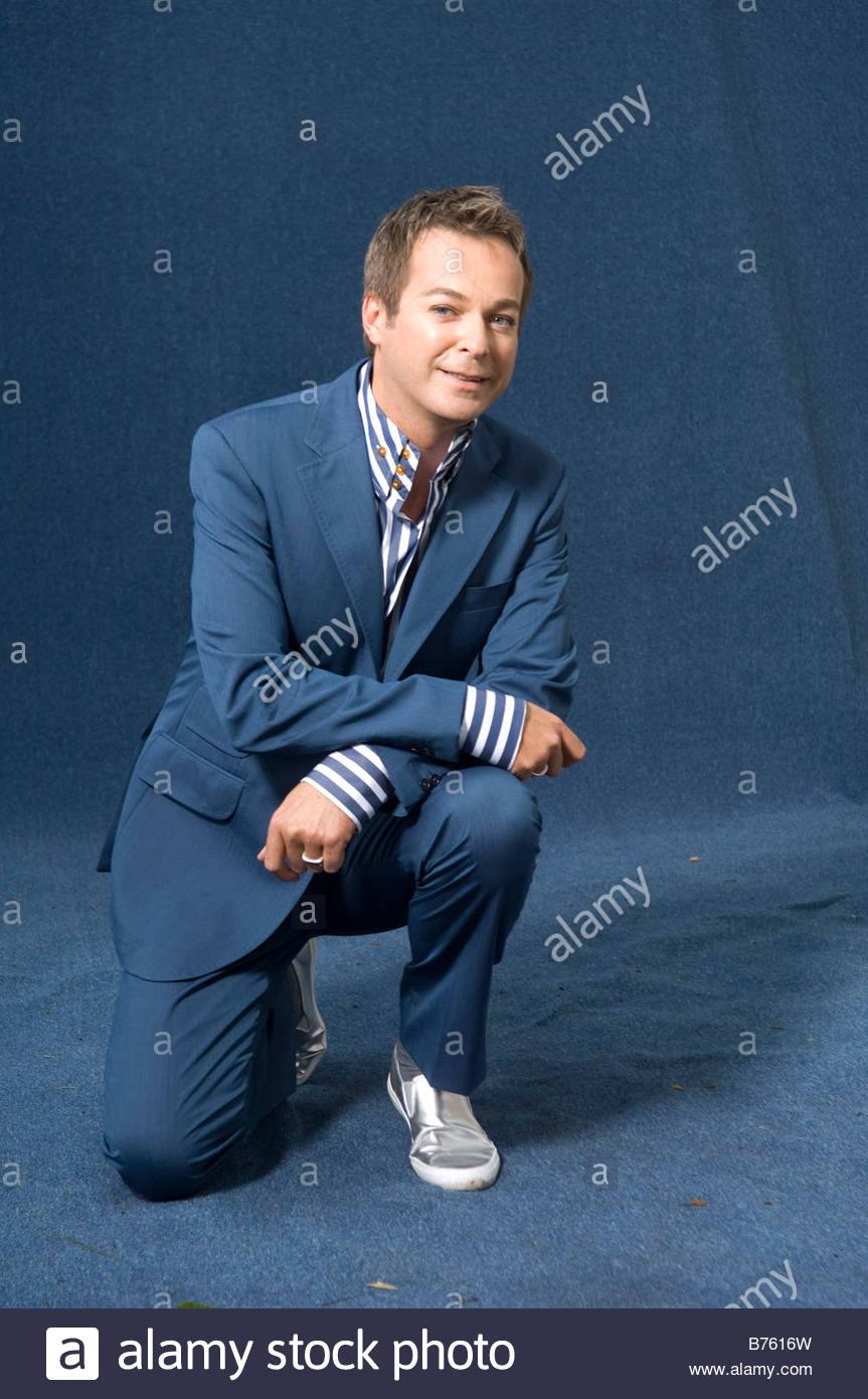 Julian clary comic t v presenter and now author