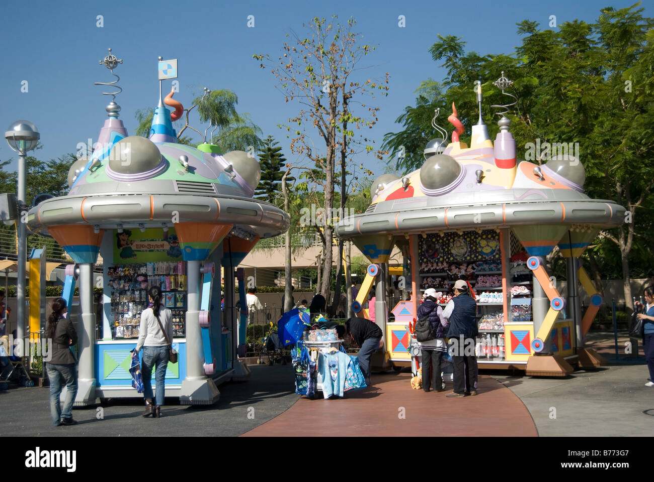 Hong Kong Disneyland Resort Lantau Island Hong Kong