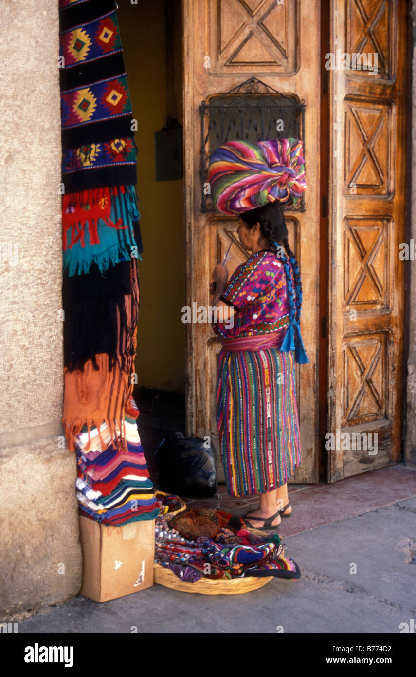 mayan-woman-standing-in-a-doorway-in-the