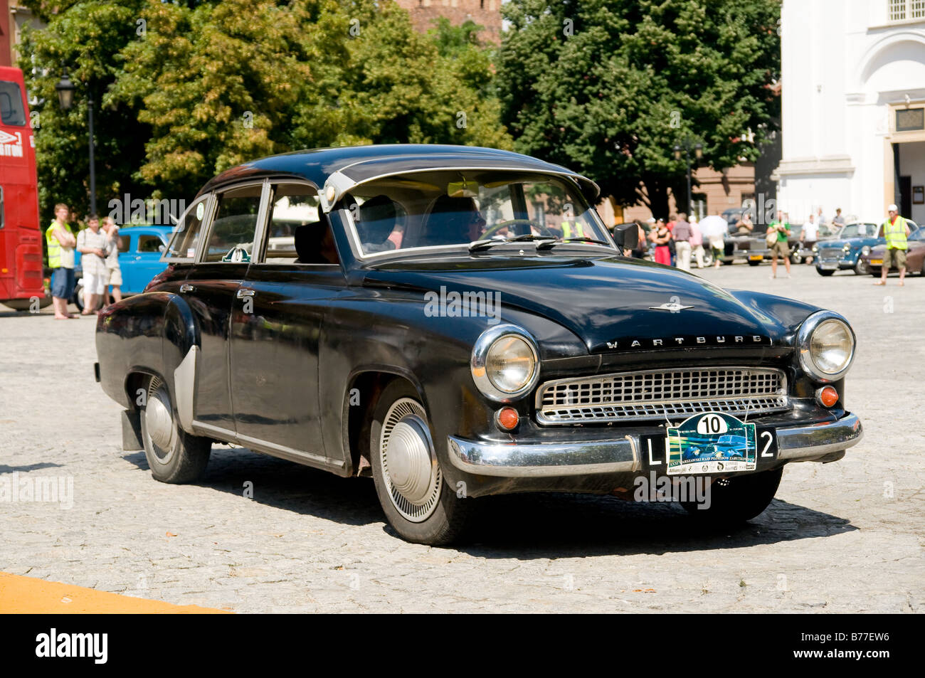 1964 Wartburg 1000 On Cars Competition During Xxxith Warsaw