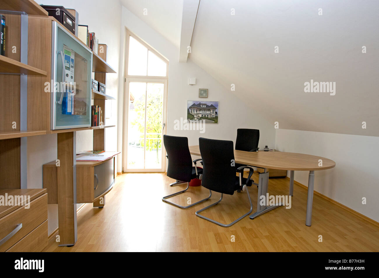 Arbeitszimmer design  Modernes Arbeitszimmer, modern workroom Stock Photo, Royalty Free ...