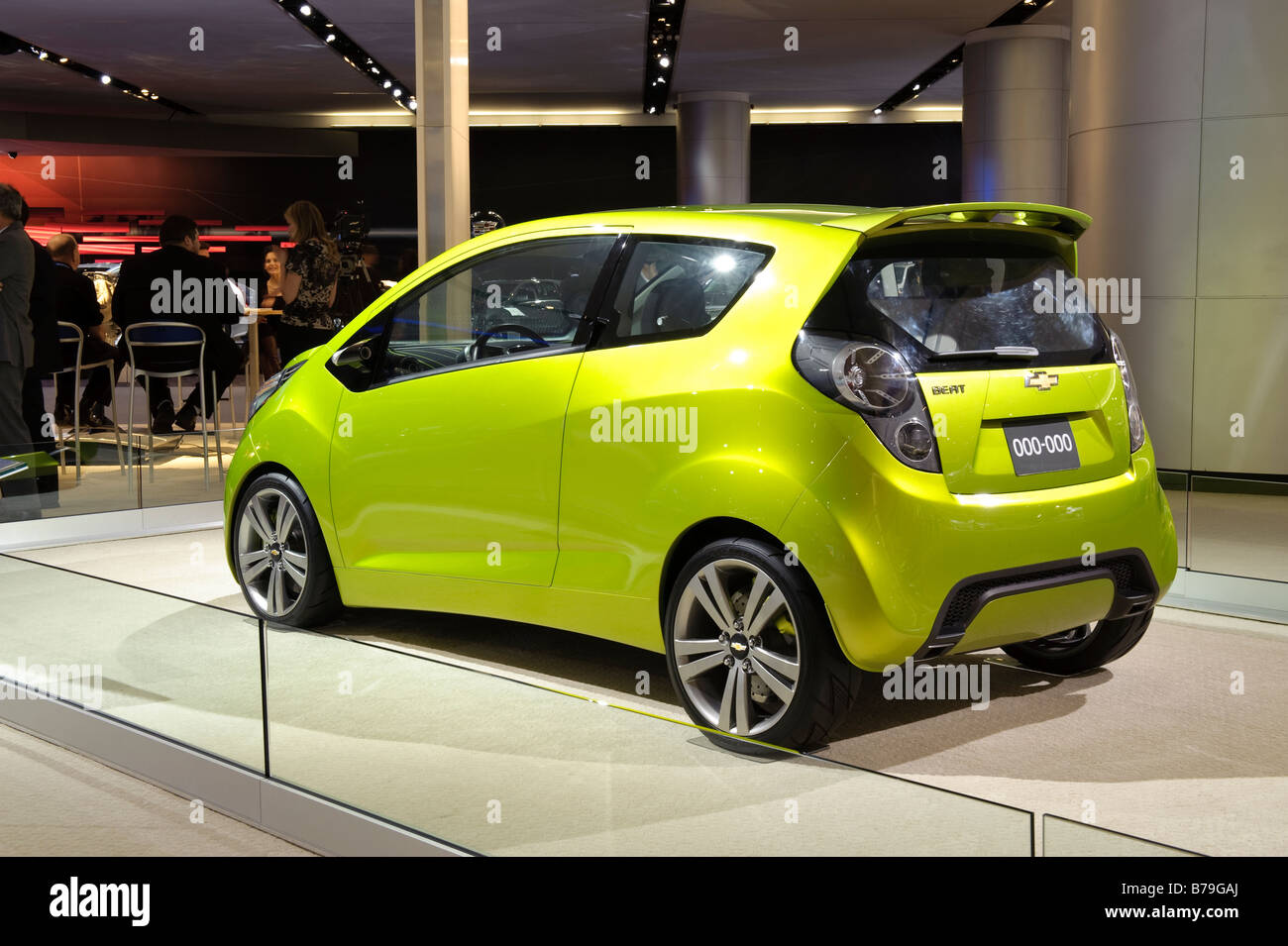 Chevrolet Spark Stock Photos  Chevrolet Spark Stock Images  Alamy