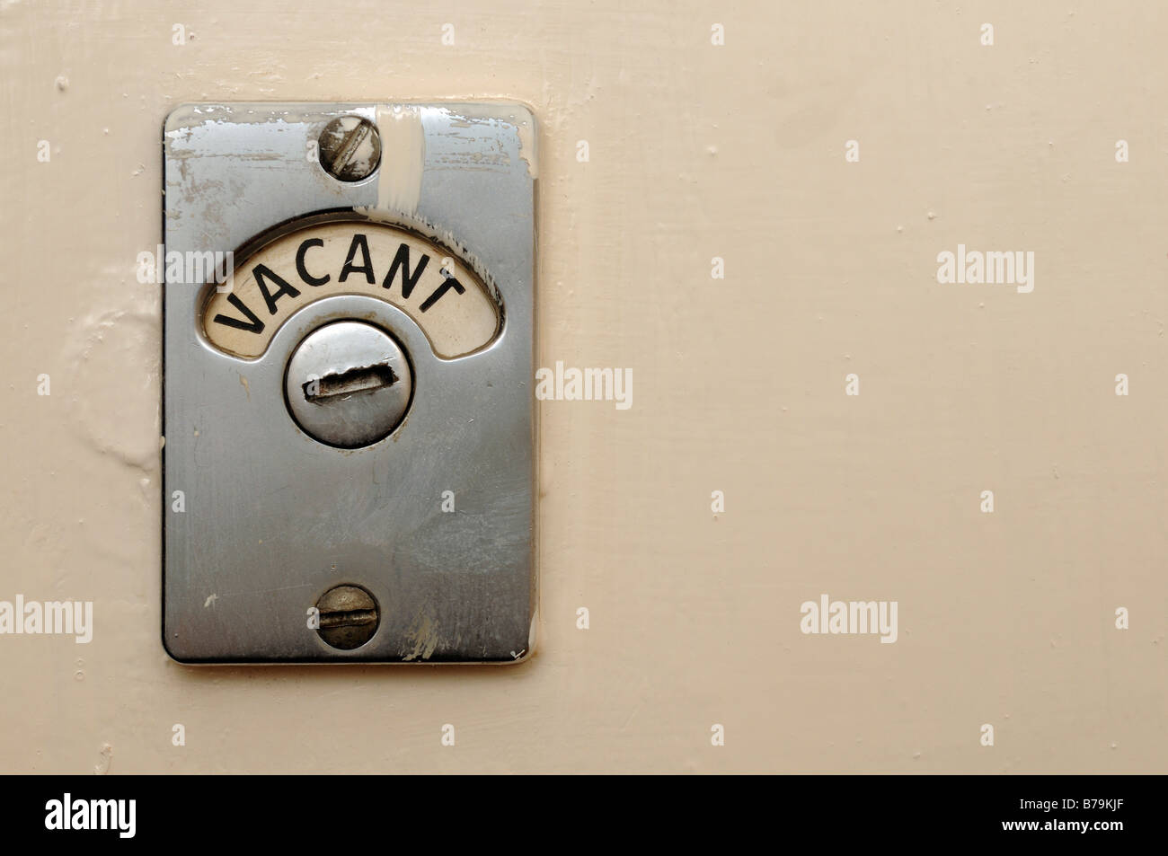 Bathroom Door Signs Vacant vacant toilet door lock stock photo, royalty free image: 21725943